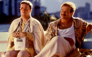 Partners Nathan Lane and Robin Williams in The Birdcage
