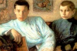 Boris Pasternak and brother Alex
