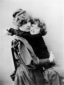 Constance Wilde and Cyril