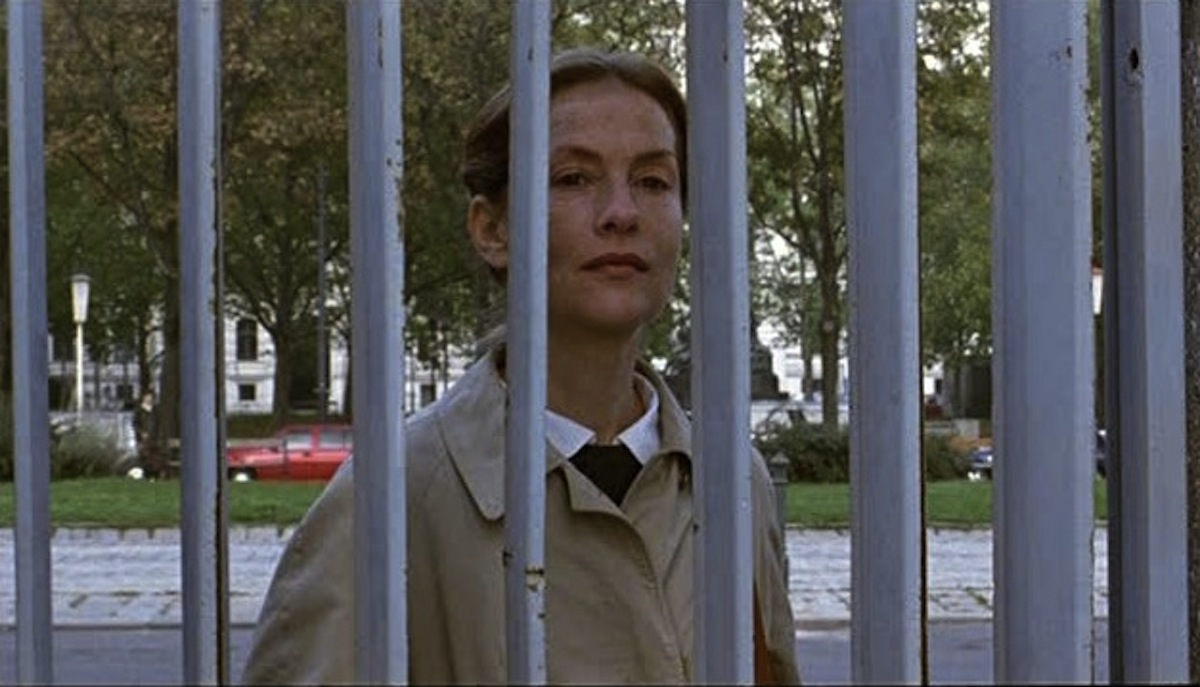 Isabelle Huppert as Erika Kohut in The Piano Teacher