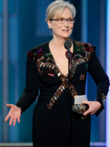 Meryl Streep - award speech