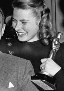 Ingrid Bergman at the Oscars