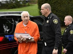 Jerry Sandusky, former Penn State coach, convicted of sexual abuse of children