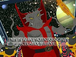 South Park: Xenu - Church of Scientology