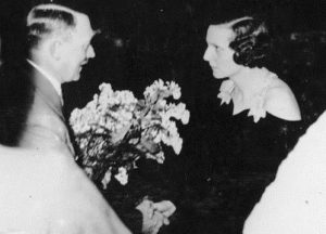 1934 Adolf Hitler and Leni Riefenstahl
