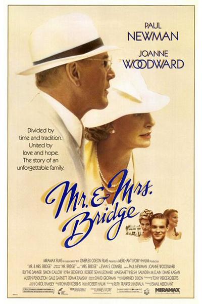 Mr. and Mrs. Bridge movie poster