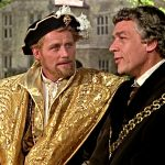 Robert Shaw as King Henry VIII and Paul Scofield as Sir Thomas More