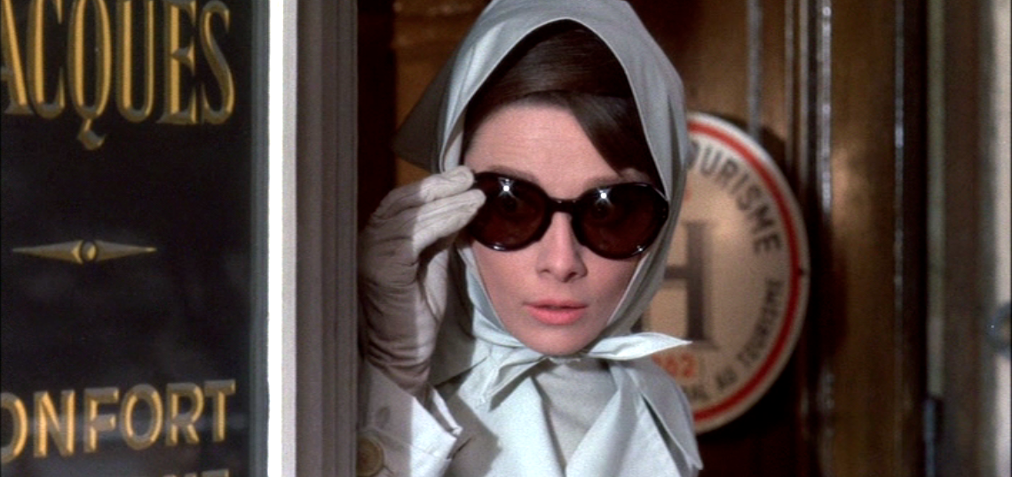 Audrey Hepburn in the movie Charade (1963)