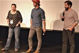 Kat Hassebroek introduces American Animals at the Crested Butte Film Festival