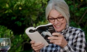 "Book Club's Diane Keaton reading ""50 Shades of Gray"""