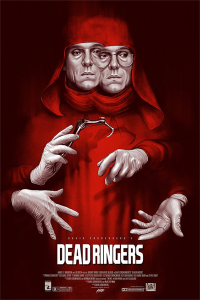 dead ringers red poster