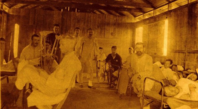 Field hospital in Cuba, Spanish-American War
