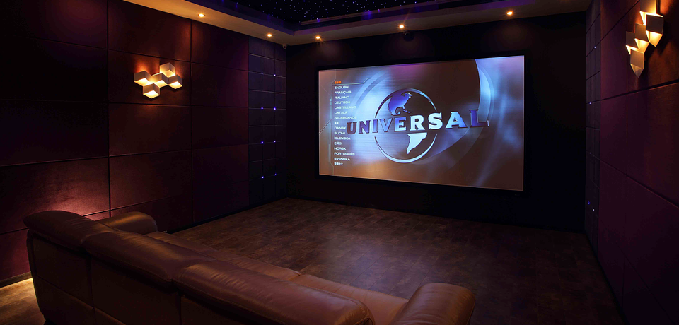 A Movie Room