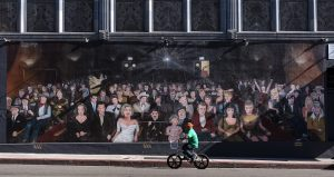 """You are the star"" mural, Photo: Carol Highsmith, Library of Congress"