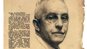 Eugenics laws in Connecticut