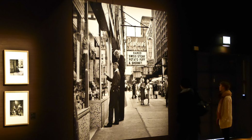 Vivian Maier exhibition at Dunkers in Helsingborg